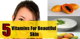 five essential vitamins for fair skin in hindi