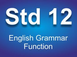 English Grammar Function