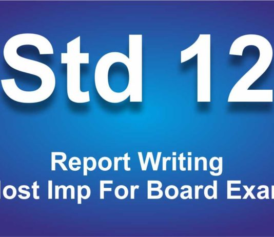 Report Writing most imp for board exam