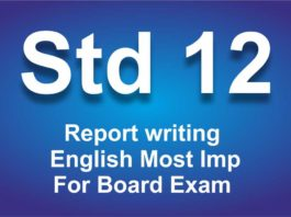 Report writing for class 12 English Most Imp For Board Exam