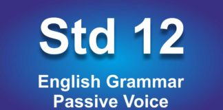 English Grammar Class 12 Passive Voice